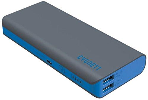 Cygnett CY1456PBCHE ChargeUp Sport Batería Externa para Smartphone/Tablet (11000 mAh) Gris/Azul