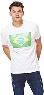 Brazil Football Flag T-Shirt