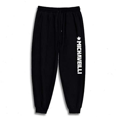 Katenyl Pantalones de chndal de Talla Grande para Hombre, Moda, Estampado de Todo fsforo, Informal, Relajado, para Correr, Pantalones bsicos para Todas Las Estaciones 6XL