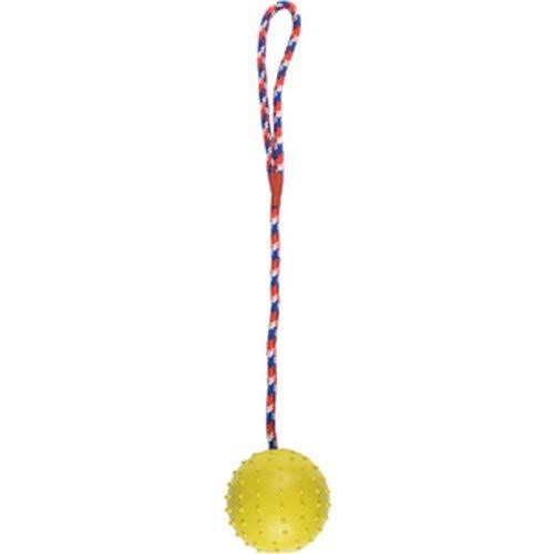 Flamingo 517801 Hs Gomma Classic Ball + fascetta con corda verde 7 cm