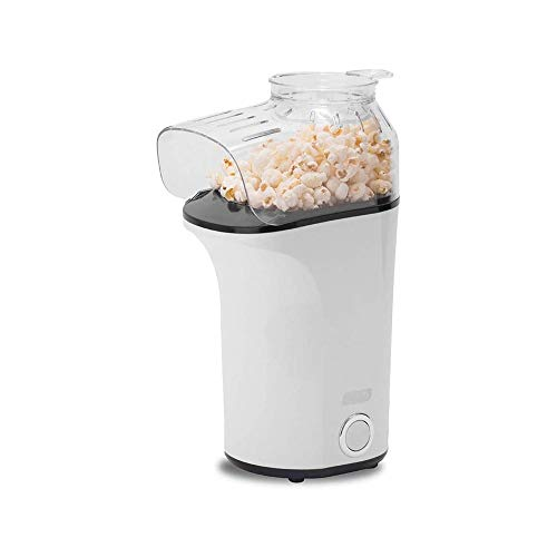 Learn More About LKNJLL Hot Air Popcorn Popper Maker With Measuring Cup To Portion Popping Corn Kern...