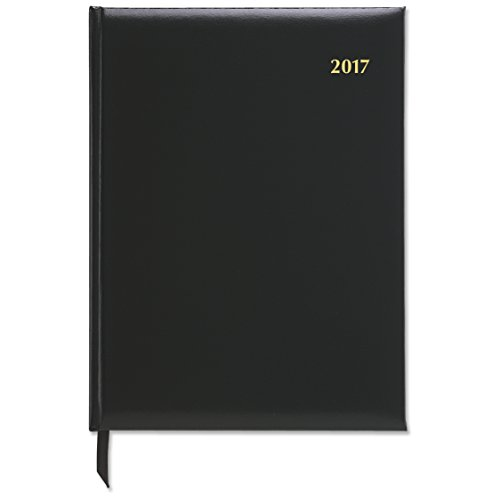"""Day-Timer Weekly Appointment Book / Planner 2017, Executive, 7-1/2 x 10"""", Black (13801) Photo #2"""