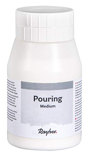 Rayher 38350000 Pouring Medium für Acryl Fließtechnik, 500ml