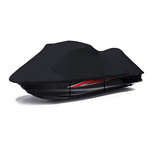 LDIW Motorboot Hülle Persenning Jet Ski Cover Oxford Wasserdicht Staub Schutz Jet Ski Cover Allwetter-Außenschutz UV-beständig Passend