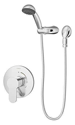 Symmons S-6703-1.5-TRM Identity Single Handle 1-Spray Hand Shower Trim in Polished Chrome - 1.5 GPM (Valve Not Included)
