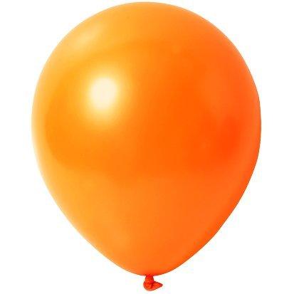 'Palloncini 'Orange–Metallic (lucido)–Ø 30cm 100pezzi–partydiscount24