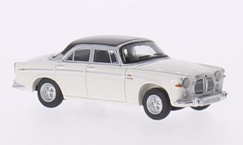 Rover P5B Coupe, weiss/dunkelbraun, RHD, 1967, Modellauto, Fertigmodell, BoS-Models 1:87