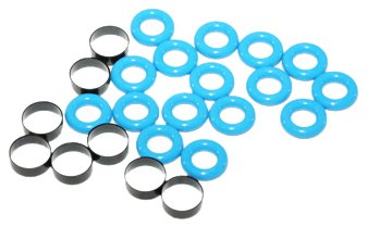 ACDelco 217-3102 GM Original Equipment Fuel Injector O-Ring Kit with 8 Bushings and 16 O-Rings