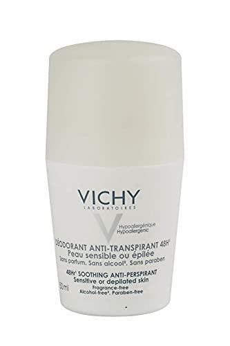 Vichy Deo Desodorante Anti-Transpirante Pieles Sensibles Roll-On 48 H - 50 gr