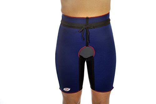 TSM Sportbandage Hüft-Oberschenkel-Bandage beidseitig Pro mit ausgeschnittenem Schritt, M, 3180