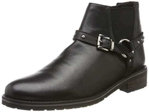 Marc Lorella, Bottines Femme, Noir (Cow Ox Milled Black 00715), 41 EU