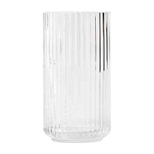 DANMARK LYNGBY Vase, Glas, 20,5 x 10,5 cm