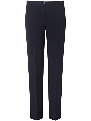 Basler Womens Plus Bella Mid-Rise Suit separato pantaloni gamba dritta - blu - 58