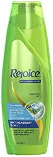 Rejoice Shampoo Anti Dandruff 3 in 1 320ml -Gives You Smooth Hair and has Anti-Dandruff ZPT which Helps Prevent The Recurrence of Dandruff in Your Hair
