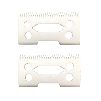 professional ceramic clipper blades 2 hole2-Hole Clipper ceramic Blade cutter,ceramic clipper replacement blades for Wahl Senior cordless Clipper, Wahl Magic clip, wahl sterling senior,2-Pack from Youfan