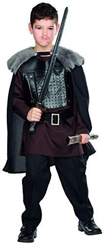 Rubie's Wolfskrieger Kostüm Größe 116 Kinder Karneval Wikinger Barbare Krieger Ritter Mittelalter