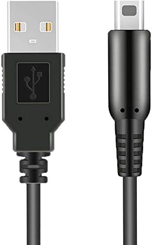 Sunnyillumine USB Charger Charging Cable for Nintendo DSi 2DS 3DS 3DSXL New2DS New3DS New3DSXL