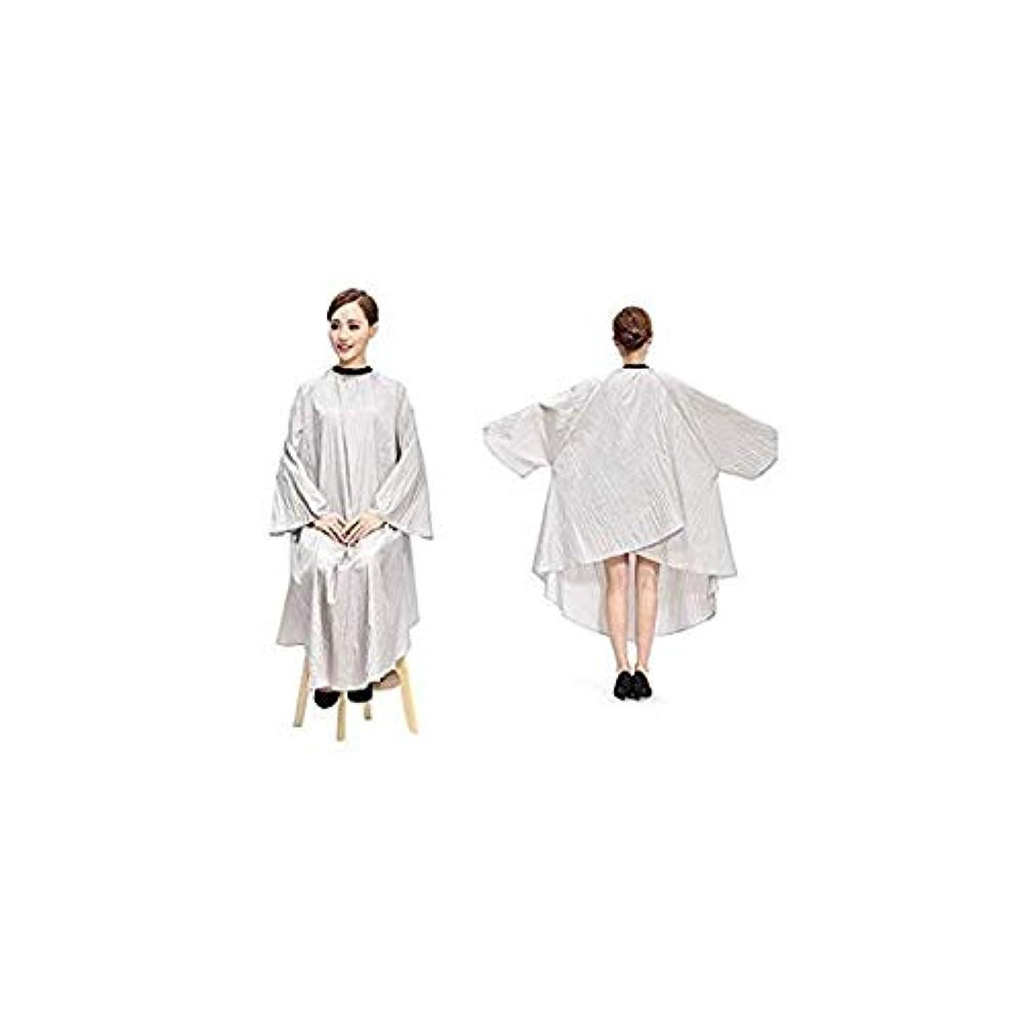 縫い目仕方ダンス散髪ケープ ヘアエプロン 散髪マント サロン ヘア エプロン 散髪 ヘアーエプロン 175*145cm 美容師 刈布