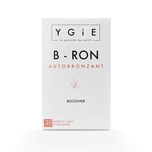 B-RON Autobronzant | Optima Autobronzant – Hale Doré Et Teint Lumineux sans Exposition au Soleil | 30 comprimés | Fabriqué en France | Ygie