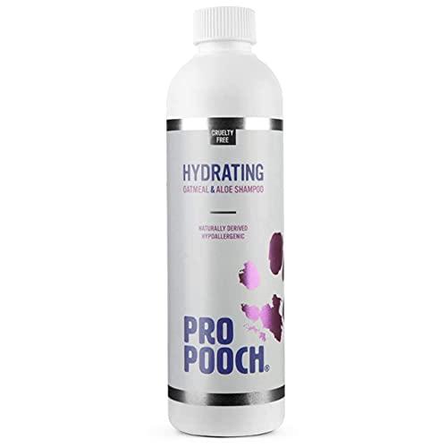 Shampoing à l'avoine pour chiens Pro Pooch pour les démangeaisons cutanées. Naturel, hypoallergénique et sans parfum