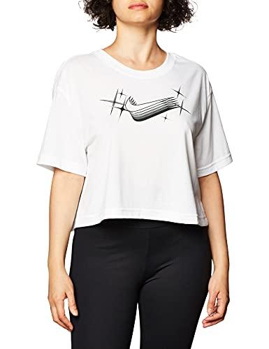 NIKE Camiseta para Mujer. Blanco L