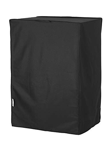 WOMACO Universal Rollaway Bed Cover, Folding Bed Storage Cover Bed Protector (Black, Twin / 38 Inch)
