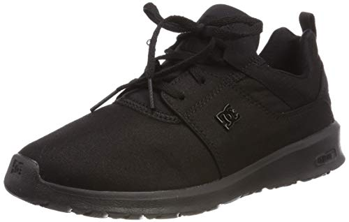 DC Shoes Damen Heathrow TX SE Skateboardschuhe, Schwarz (Black 001), 42 EU