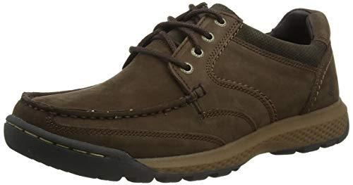 Hush Puppies Dominic, Zapatos para Senderismo Hombre, marrón, 43 EU