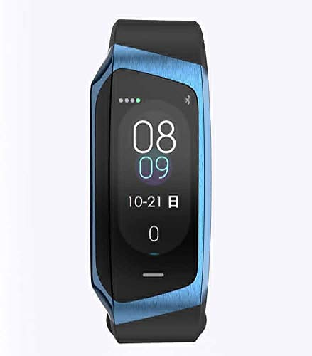 Tracker Fitness Rastreador de ejercicios, la presión arterial inteligente Control de las pulsaciones Muñequera, Soporte de llamada y mensaje recordatorio, IP67 impermeable reloj Rastreador de fitness