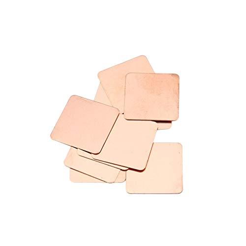 10 stuks 0,3 mm zuiver koperen koellichaam Shim Thermal Pad voor laptop grafische kaart