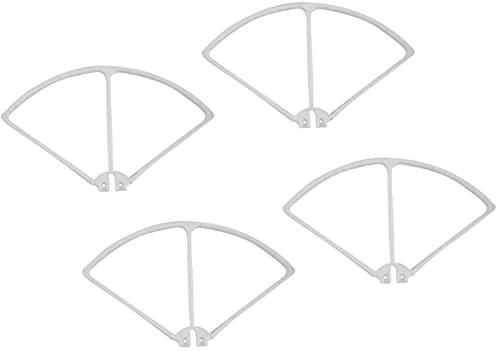 VSLIFE Set di Protezioni per paraurti di Protezione dell'elica per Drone per quadricottero RC Syma X8C X8W X8G X8HW, 5 Colori tra Cui Scegliere ,Accessori di Ricambio RC (Colore: Bianco) Durevole