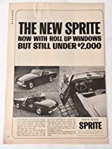 1964 Austin Healey Sprite Magazine Print Advertisement