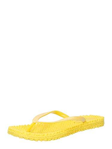 ILSE JACOBSEN HORNBÆK Chanclas Cheerful01 con purpurina., color Amarillo, talla 42 EU