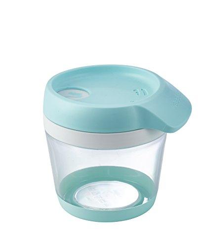 keeeper Schüttdose für Trockenvorräte, 4-in-1 Schüttöffnung, BPA-freier Kunststoff, 250 ml, 11 x 9,2 x 9,6 cm, Bruni, Mintgrün