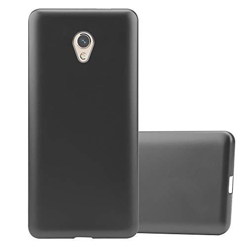 Cadorabo Hülle für ZTE Blade V7 in METALLIC GRAU - Handyhülle aus flexiblem TPU Silikon - Silikonhülle Schutzhülle Ultra Slim Soft Back Cover Case Bumper
