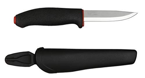 Mora FT711 Cuchillo a Lama Fissa,Unisex - Adulto, Rojo, un tamaño