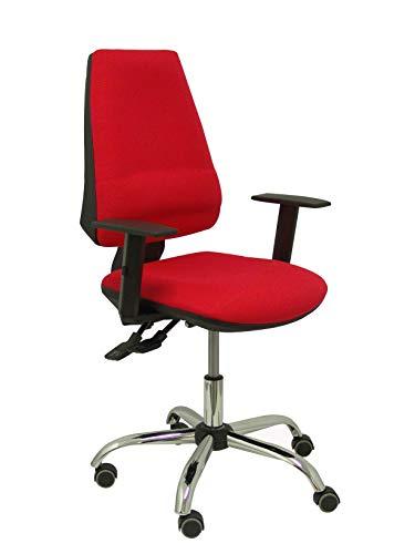 Piqueras en Crespo ergonomische bureaustoel met asynchrone en verstelbaar mechanisme, zitting en rugleuning bekleed met balstof – rugleuning met versterking van de lumbale wervelkolom, (lang gebruik 24 uur).