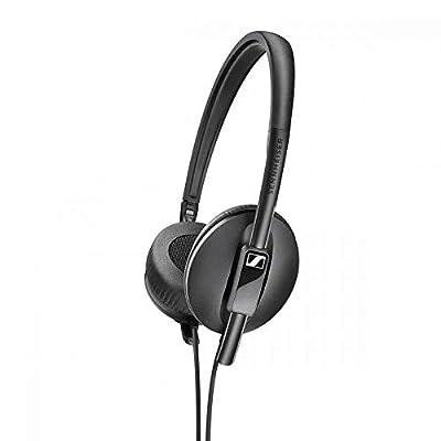 Sennheiser HD 100 On-Ear Lightweight Foldable Headphones - Black from Sennheiser