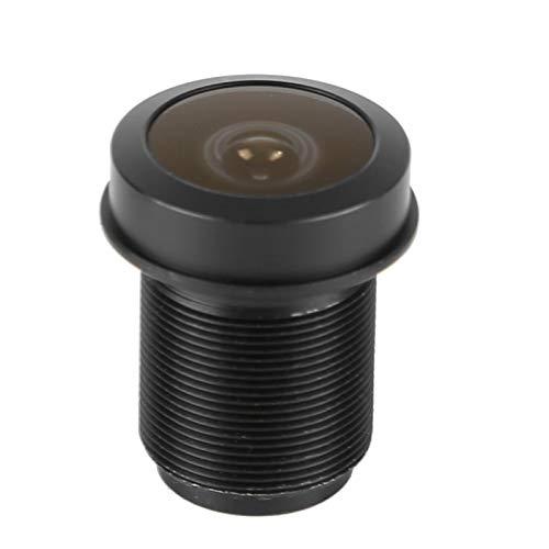 Lente ojo de pez gran angular, lente focal fija, lente de cámara de seguridad de 5 MP, lente de cámara de repuesto para cámara de vigilancia CCTV para el hogar