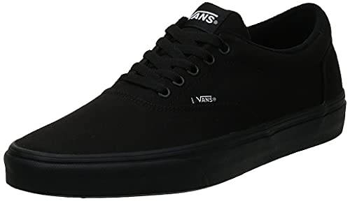 Vans Doheny, Sneaker Hombre, Negro Lona Negro Negro 186, 42 EU