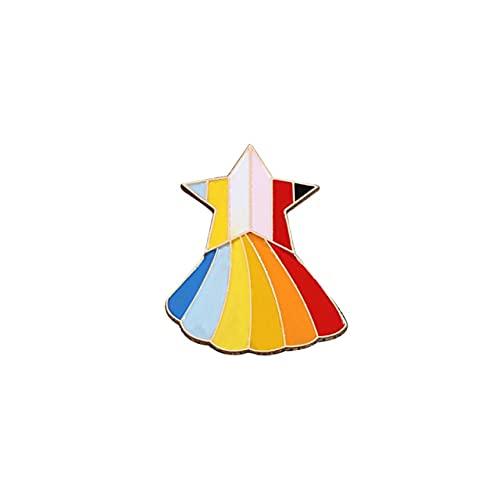 Pernos de esmalte del arco iris de la colección Broches Pintores Lápiz Alpaca Game Pride Gay Badge Chaquetas Pin de solapa Joyería Regalos