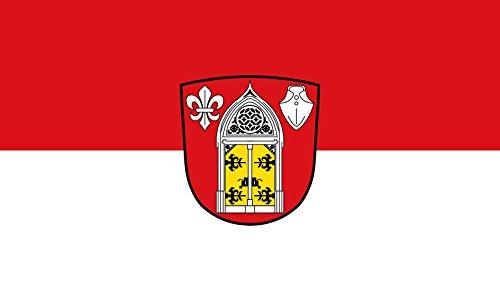 Unbekannt magFlags Tisch-Fahne/Tisch-Flagge: Lohkirchen 15x25cm inkl. Tisch-Ständer
