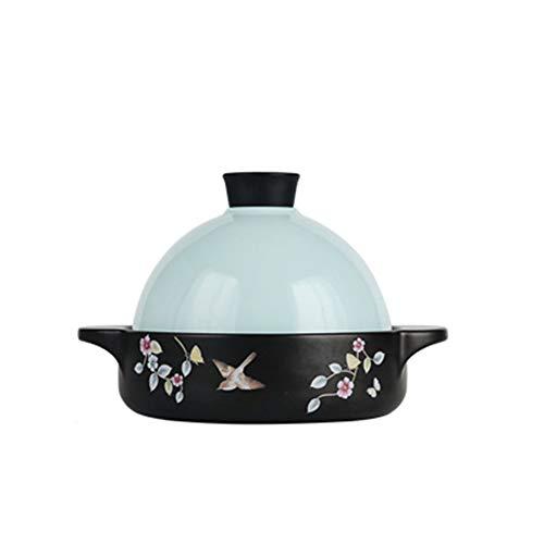 Professionele Kwaliteit Marokkaanse Tagine Braadpan Gezondheid Taji Pan Cooker Keramische Pot Stoofpot Braadpan Soep Vuur Vlam Hoge Temperatuur Hittebestendig roze