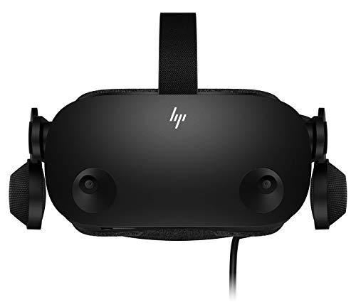 HP Reverb G2 + 2 Controladores - Gafas de Realidad Virtual SteamVR, WMR, resolución 4k, lentes ajustables Valve, 4 cámaras, sonido espacial 3D, subpixel RGB, 90Hz, Bluetooth Integrado, Ultraligeras