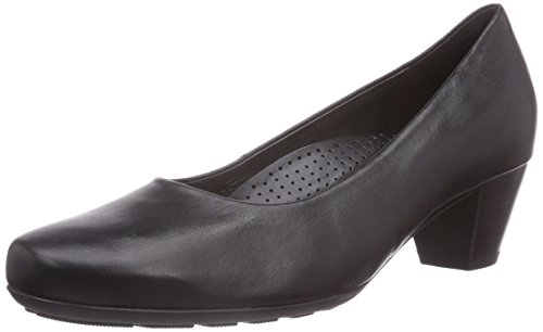 Gabor Shoes Damen Comfort Fashion Pumps, Schwarz (schwarz 57), 39 EU