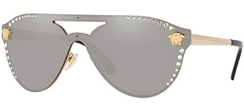 Sonnenbrillen Versace GLAM MEDUSA VE 2161B GOLD/SILVER 42/14/140 Damen