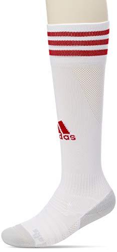 adidas Adi Sock 18 Calcetines, Unisex Adulto, White/Power Red, 4042