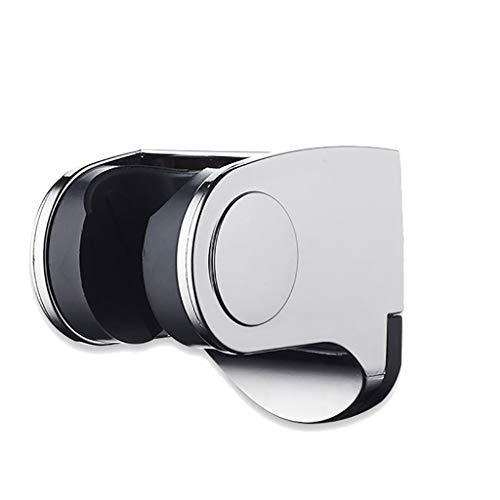 RongWang Soporte para Teléfono con Cabezal De Ducha De Baño Soporte De Ducha De Mano Ajustable Montado En La Pared De Baño Cromado Accesorios De Baño