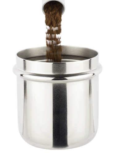 Motta Portafilter Dosing Cup | Kaffee-Dosierbehälter | Höhe: 60 mm | Made in Italy