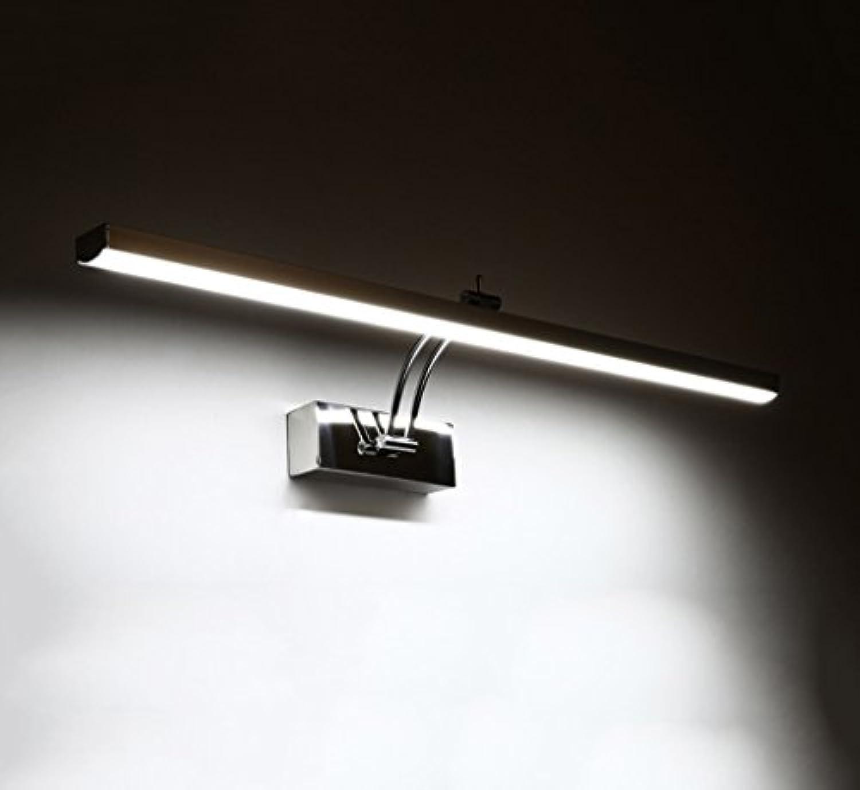 Spiegelfrontlicht LED-Spiegel vorne Lichter, Bad Spiegel Licht moderne wasserdichte Anti-Nebel Spiegel Wandleuchte Wandlampe (Farbe   Weies Licht-41cm)
